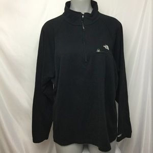 The North Face men's half zip sweater
